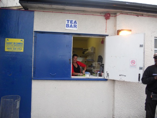 BONNY AT THE TRAMS TEABAR AT THE ARENA
