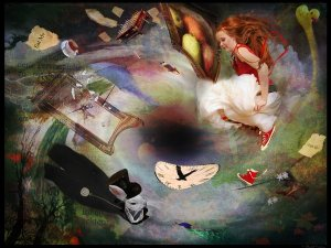 Alice_and_the_Rabbit_Hole_by_Filmchild