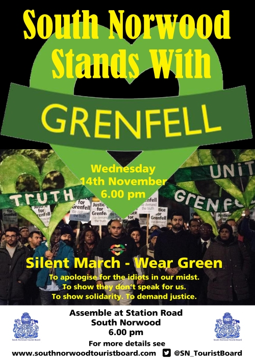Stands With Grenfell